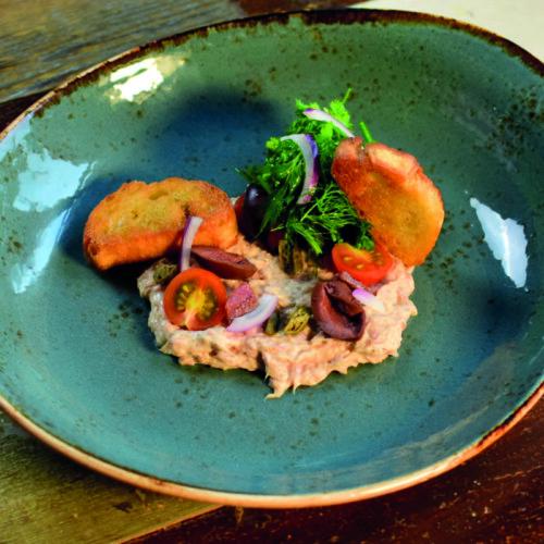 Salade au thon & Röstbrot