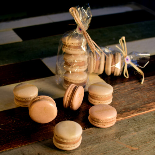 Macarons mit Passionsfrucht